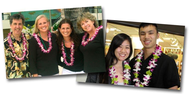 Hawaii Island Lei Greetings - Enjoy a lei greeting on the Island of Hawaii