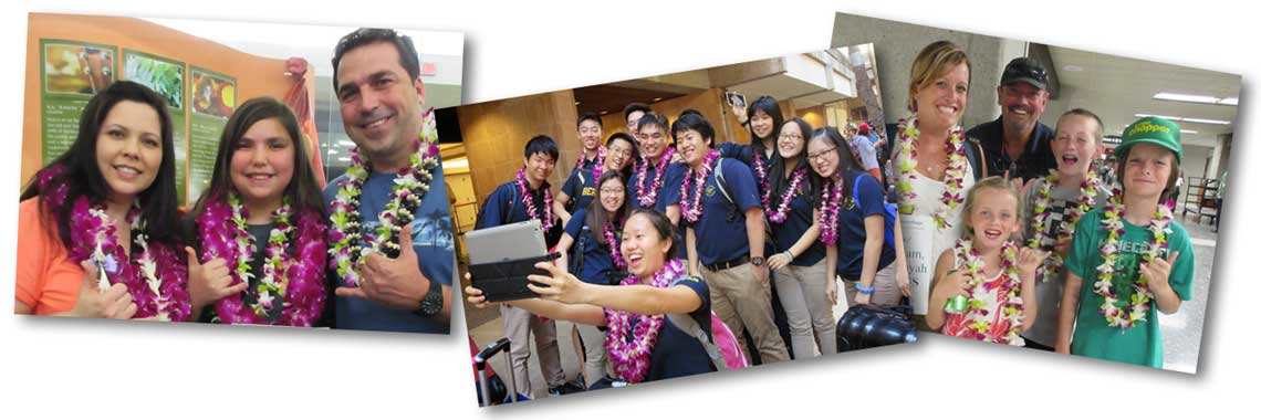 Oahu lei greetings friendly honolulu airport greeters honolulu international airport book online now airport lei greetings on the island of oahu m4hsunfo